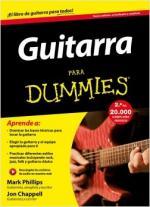 Portada del libro Guitarra para Dummies