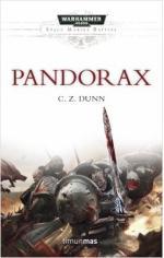 Portada del libro Pandorax