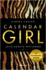 Portada del libro Calendar Girl 3. Julio Agosto Septiembre