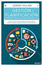 Portada del libro Gestión y planificación de redes sociales profesionales