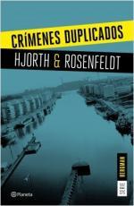 Portada del libro Crímenes duplicados (Serie Bergman 2)