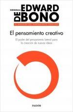 Portada del libro El pensamiento creativo