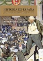Portada del libro Restauración y dictadura