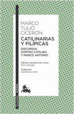 Portada del libro Catilinarias y Filípicas