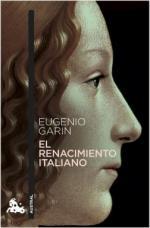 Portada del libro El Renacimiento italiano
