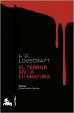 Portada del libro El terror en la literatura
