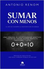 Portada del libro Sumar con menos
