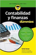 Portada del libro Contabilidad y finanzas para Dummies