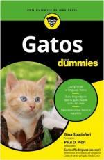 Portada del libro Gatos para Dummies
