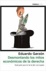 Portada del libro Desmontando los mitos económicos de la derecha