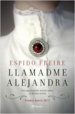 Portada del libro Llamadme Alejandra