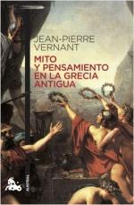 Portada del libro Mito y pensamiento en la Grecia antigua