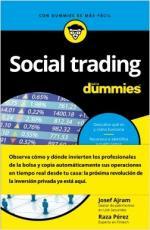 Portada del libro Social trading para Dummies
