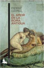 Portada del libro El amor en la Roma antigua