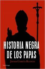 Portada del libro Historia negra de los papas