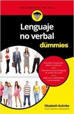 Portada del libro Lenguaje no verbal para Dummies