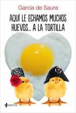 Portada del libro Aquí le echamos muchos huevos... a la tortilla