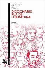 Portada del libro Diccionario Pla de literatura
