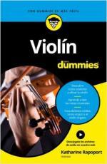 Portada del libro Violín para Dummies