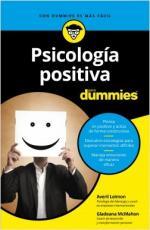 Portada del libro Psicología positiva para Dummies