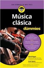 Portada del libro Música clásica para Dummies
