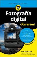Portada del libro Fotografía digital para Dummies