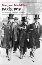 Portada del libro París, 1919