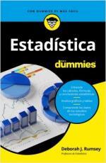 Portada del libro Estadística para Dummies
