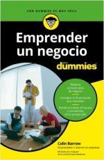 Portada del libro Emprender un negocio para Dummies