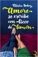 Portada del libro Amore se escribe con licor de limón
