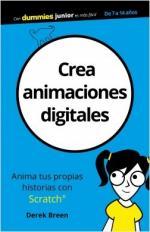 Portada del libro Crea animaciones digitales