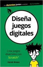 Portada del libro Diseña juegos digitales