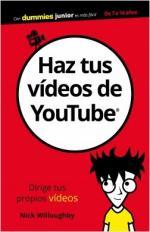 Portada del libro Haz tus vídeos de YouTube