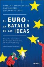 Portada del libro El euro y la batalla de las ideas