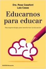 Portada del libro Educarnos para educar