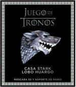 Portada del libro Juego de Tronos. Casa Stark: lobo huargo