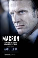 Portada del libro Macron, el presidente que ha sorprendido a Europa