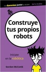 Portada del libro Construye tus propios robots
