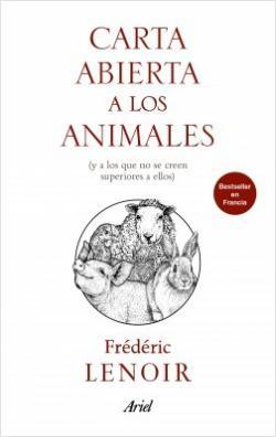 Portada del libro Carta abierta a los animales