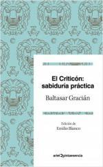 Portada del libro El criticón: sabiduría práctica