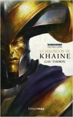 Portada del libro La maldición de Khaine, nº 3