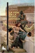 Portada del libro La vida en la Roma antigua