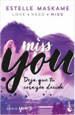 Portada del libro You 3. Miss You