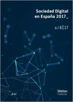 Portada del libro Sociedad Digital en España 2017