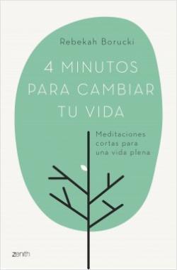 Portada del libro 4 minutos para cambiar tu vida
