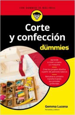 Portada del libro Corte y confección para Dummies