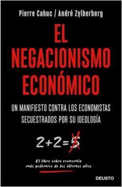 Portada del libro El negacionismo económico