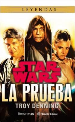 Portada del libro Star Wars: la prueba (novela)