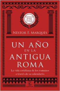 Portada del libro Un año en la antigua Roma