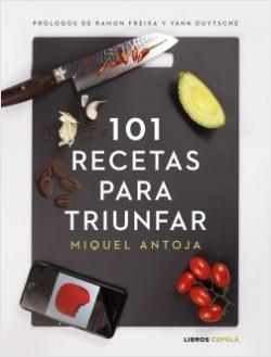 Portada del libro 101 recetas para triunfar